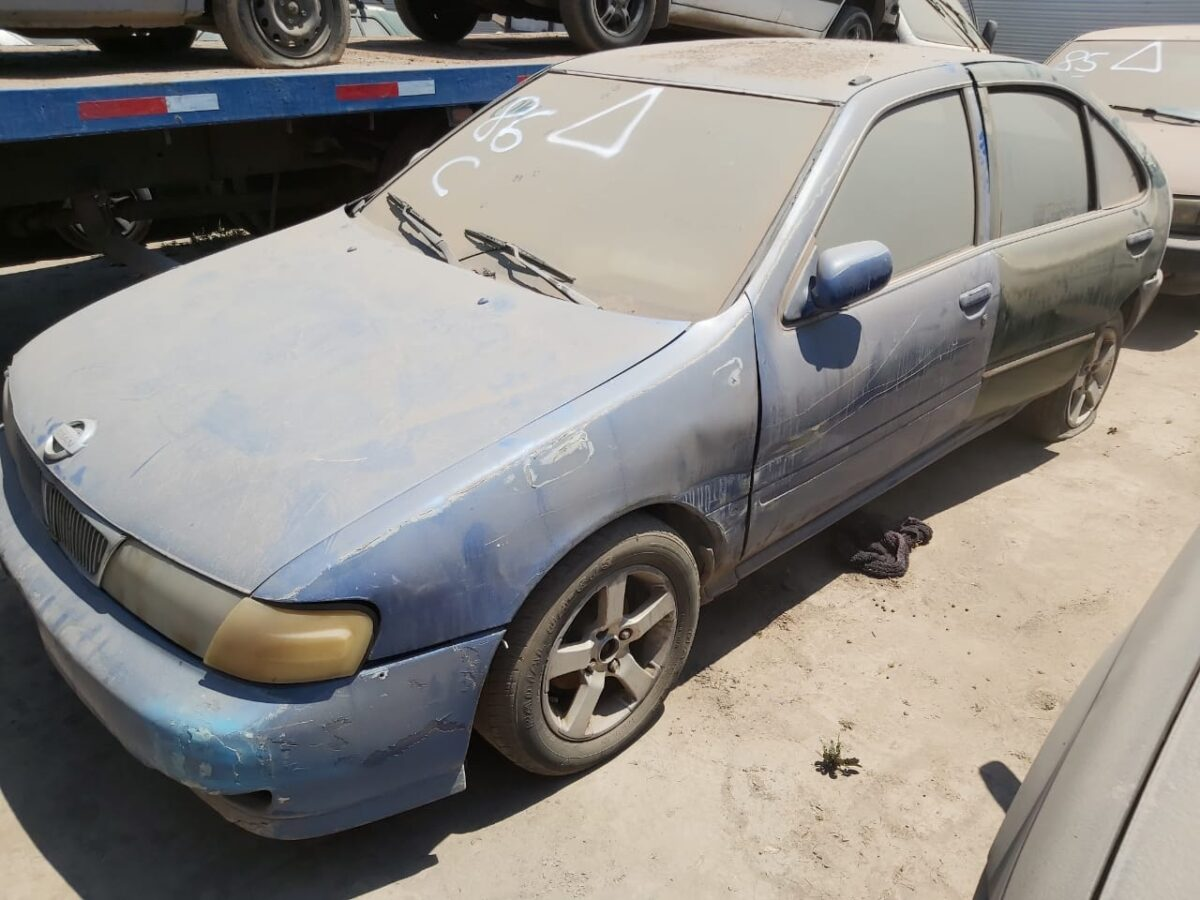 Lote 86 Automovil Nissan Sentra Ii Remates Mvr